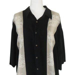 Moda Campia Men'S XXL Tropical Shirt